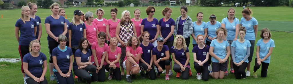 Ladies cricket in Thame