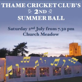 Thame Cricket – 2nd Summer Ball