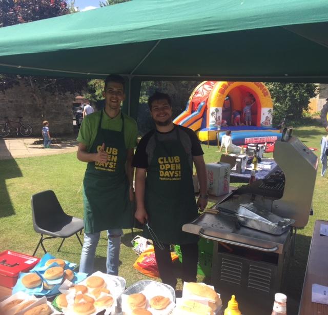 Open Day Waitrose BBQ