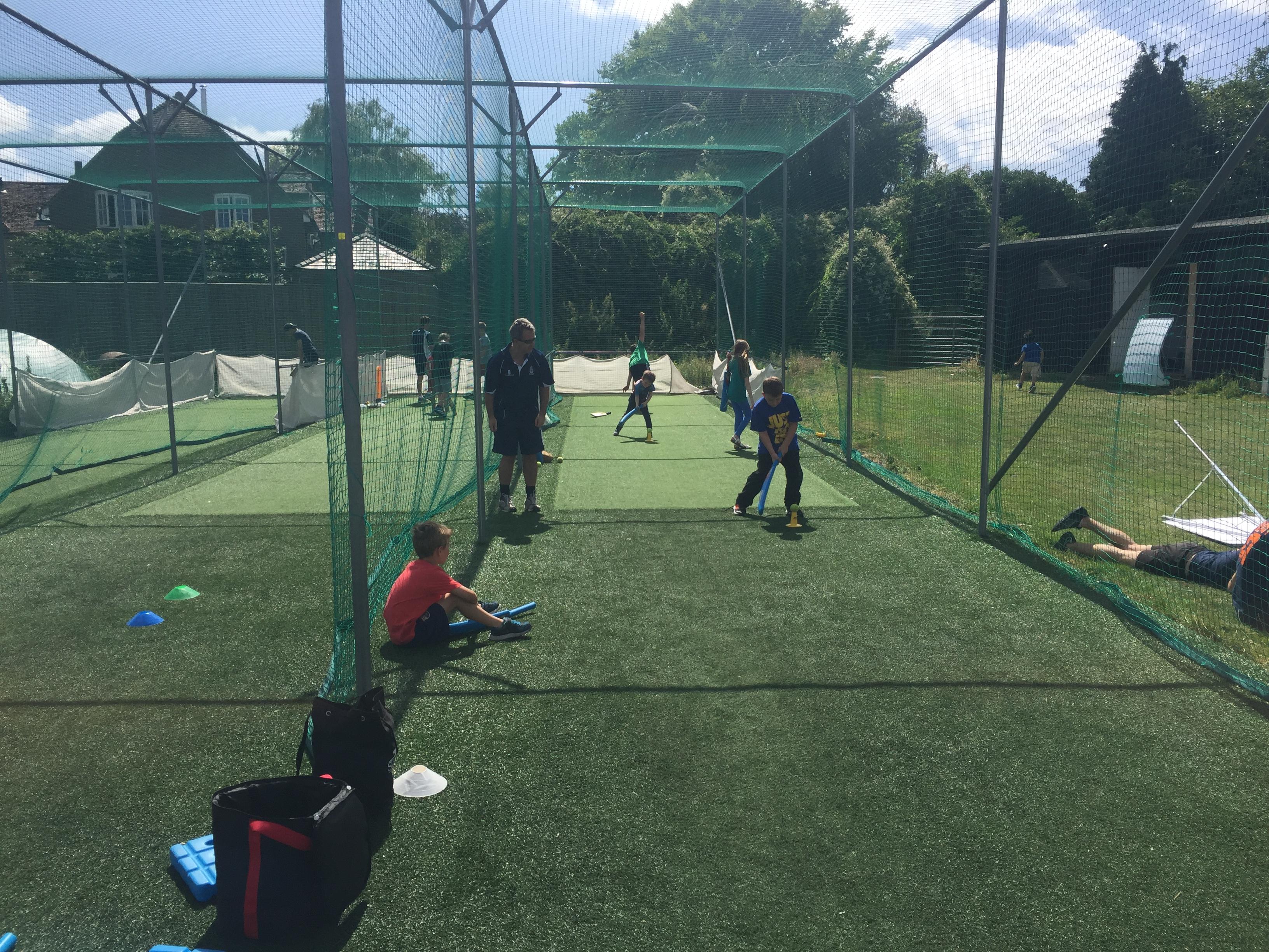 Open day coaching in nets