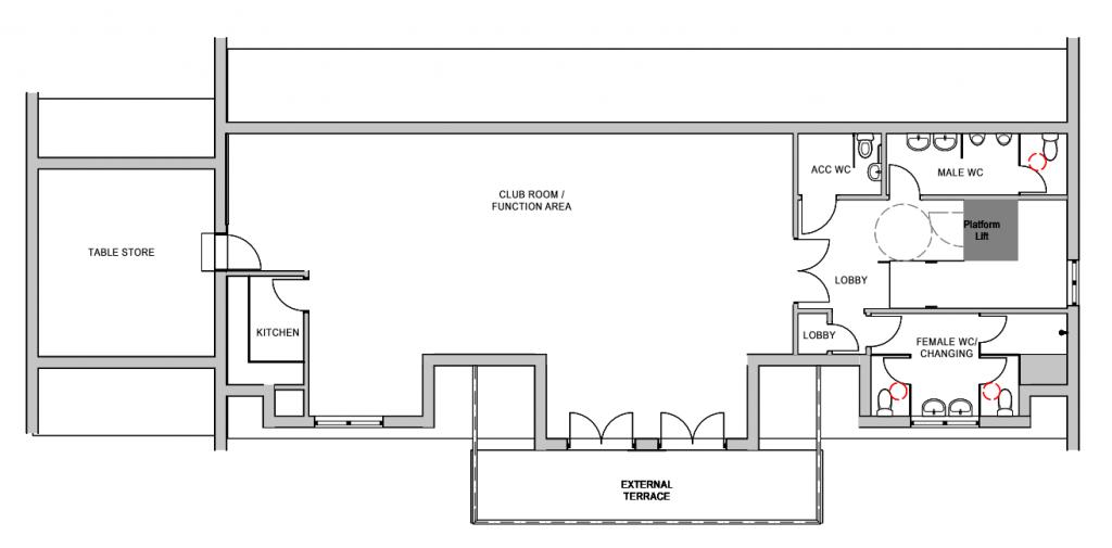 First Floor Plan 2017