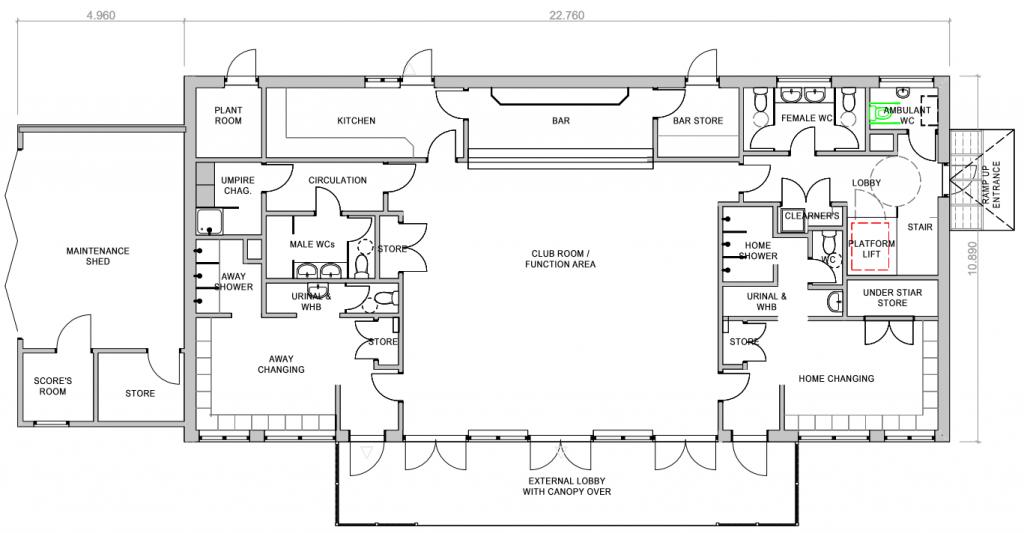 Ground Floor Plan 2017