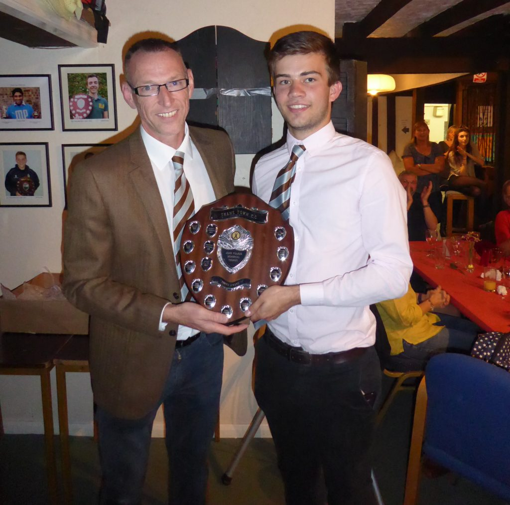 James Adams - John Fulkes award