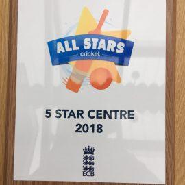 5-Star rating for TTCC All Stars
