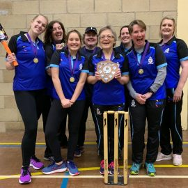 Thame Women win Oxfordshire Indoor League Division 2!