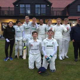 Under 15s make history at new clubhouse!