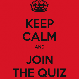 TTCC Quarantine Quiz! Friday 1st May