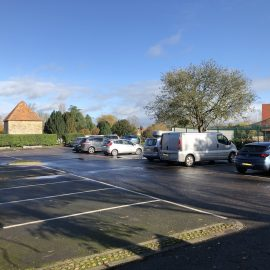 Thame Cricket Club Car Park locked