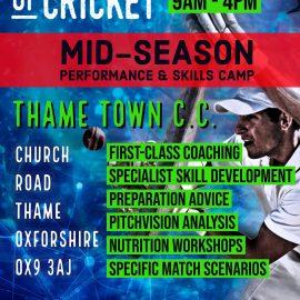 Institute of Cricket Mid-season Camp at TTCC!