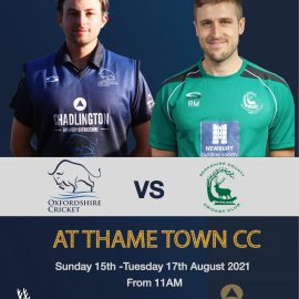 TTCC to host Oxfordshire County Men's 3-day match