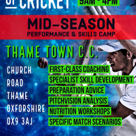 Institute of Cricket returns in late August!