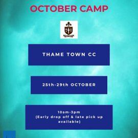 October Half Term Camp